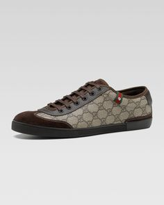 50df7ebf89483 GG Plus Sneaker by Gucci at Neiman Marcus.