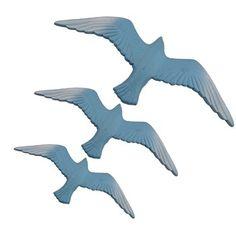 HK15 - 3'lü Martı Duvar Süsü Ürün Özellikleri Malzeme: Polyester Ürün Duvara asabileceğiniz hazır bir şekilde gönderilmektedir. Renk: Sedef, Mavi Ürün Boyutu        Büyük: Yükseklik: 12 cm Genişlik: 30 cm        Orta: Yükseklik: 10 cm Genişlik: 25,5 cm        Küçük: Yükseklik: 7 cm Genişlik: 20 cm
