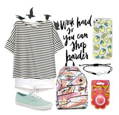 """""""GV01"""" by jinkohisui ❤ liked on Polyvore featuring Jeremy Scott, Vans, TOUS, Chupa Chups and Jayson Home"""