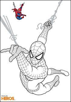 11 Classique Coloriage Spiderman A Imprimer Gratuit Pics
