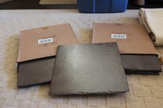 Incorporate slate pieces into your decor.  Find these ones at The Original Bridal Swap THIS Sunday, Apr 27  www.bridalswap.ca