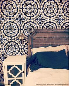 463 best stenciled painted walls images in 2019 royal design rh pinterest com