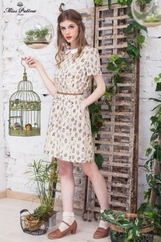 owl dress from miss patina. perfect