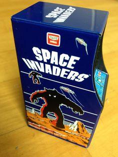 Space Invaders mini arcade machine