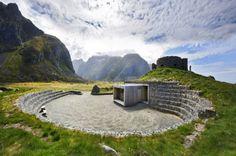 Snohettas Eggum Tourist Stop Celebrates the Norwegian Landscape with Local Materials | Inhabitat - Sustainable Design Innovation, Eco Architecture, Green Building