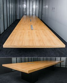 Shop Shot Of X Ash Wood Conference Table Custom Meeting Room - 4 foot conference table