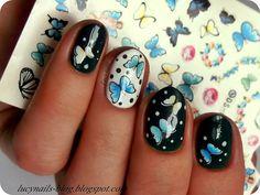 Wiosenne motyle - naklejki od EDbeauty