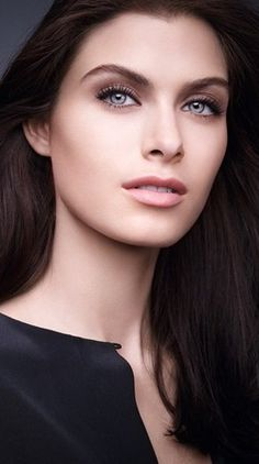 Makeup inspiration for a #makeup #portfolio of #clean makeup looks. Love!