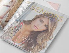 Senior Photography Magazine Template, Photography Magazine Template for Photoshop, Digital Magazine Template - SM102