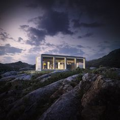 The Infinity House is just a concept for now and there's no immediate plans to build...