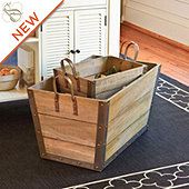 Wood Storage Bins