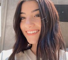 Beautiful Girl Image, The Most Beautiful Girl, Charlie Video, Dance Choreography Videos, Hair Color Dark, Famous Girls, All Smiles, Grunge Hair, Rare Photos