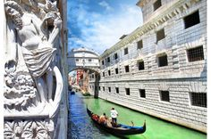 Where else can you enjoy a gondola ride, see the ancient art of glassblowing or get lost on one of its 118 islands?