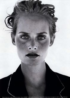 Amber Valletta | Photography by Peter Lindbergh | For Harper's Bazaar