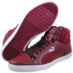 PUMA Mens STREET JUMP WINTERIZED Burgundy fashion sneakers   35493201