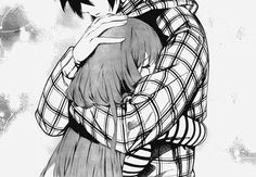 just hug me and let me cry into your chest telling me that everything will work out in the end