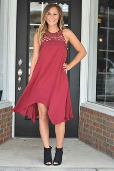 Dress to impress in this beauty! Perfect for any fall occasion! Hannah is shown wearing a small. Sizing runs true.
