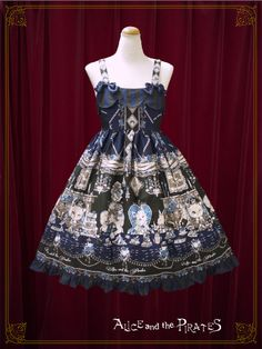 Alice and the Pirates Kitten's Wonder Night Tea Party柄セット・Ⅱ