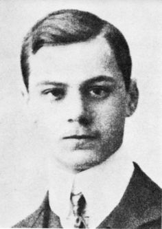 A somewhat younger portrait of Nazi party ideologue Alfred Rosenberg. No date is listed on the website. Rosenburg was executed in 1946.