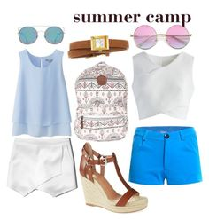 """summer camp"" by chriselda-luna on Polyvore featuring Uniqlo, Abercrombie & Fitch, Billabong, Vince Camuto, MANGO, Chicwish and Gucci"