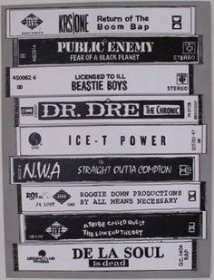 hip hop classic Cassette tapes