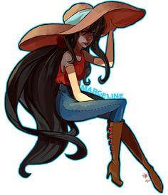 Marceline by Sannanai.deviantart.com on @deviantART