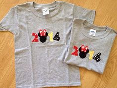 2014 disney shirt - cute! Could totally DIY. Would be nice to have the year when you are going back through pictures.
