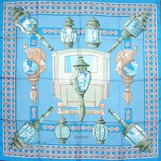 luxury-scarves.com 'Feux de Route', Cathy Latham. 1971
