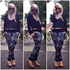 Ikat pants! arghh just beautiful isn't it! Goes perfectly with a plain top and it immediately gives out a vintage~swag <3