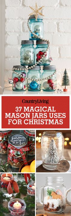 Don't forget to pin these magical ways to use Mason jars for Christmas! Follow us on Pinterest for even more great Christmas decorating ideas.