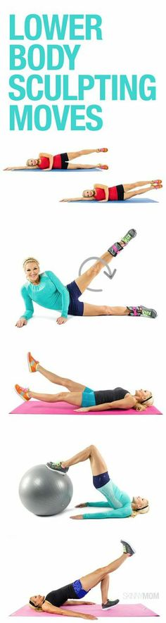 25 moves to sculpt your lower body.