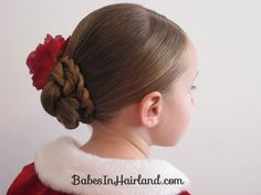 Rope Braided Updo from Babes in Hairland  #updo #hairstyles