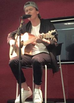 Jai Waetford at Sony Music in Kensington, London in June 2016...