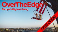 Amsterdam-North | A'DAM Tower LOOKOUT - 360º panorama view of Amsterdam & a sensational swing over the edge..
