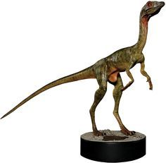 The Lost World: Jurassic Park - Compsognathus 1:1 Scale Life-Size Statue