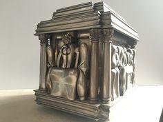 coffret sculpture métal de Miguel Berrocal 1970
