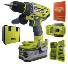 Best Ryobi Cordless Drills Review (March, 2019) - A Complete Guide Cordless Drill Reviews, Hammer Drill, Woodworking Books, Drill Driver, Kit, Tools, Drills, Phone, Book Review