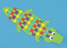 * Krokodil vlechten...