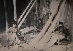 Van: Gakavian ailesi Dokuma tezgahında