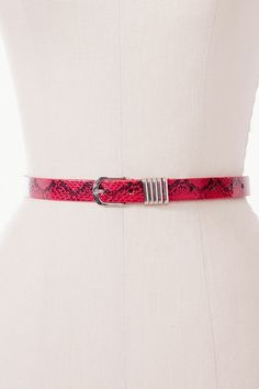 Venom Skinny Belt