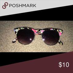Floral sun glasses Floral sunglasses Accessories Sunglasses