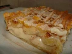 Torta de banana cremosa