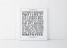 Philosophy Print The Office Print The Office TV by saltandcove