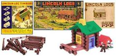 I can't tell you how many farmyards and stables I made with my Lincoln Logs!