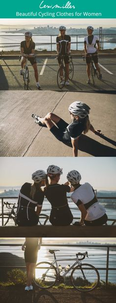 Cycling clothes, made by women for women to flatter you most.