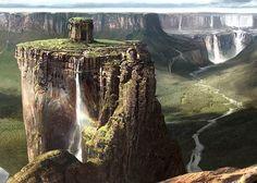 Los tepuyes, del sur de Venezuela, montañas con paredes verticales y cumbres planas, otra muestra mas de la belleza exuberante de nuestro planeta, la mayor parte de esas maravillas naturales nunca ha sido visitada debido a su poca accesibilidad.