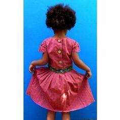 Pink Shweshwe Dress Shweshwe Dresses, Cap, Summer Dresses, Pink, Handmade, Stuff To Buy, Clothes, Image, Fashion