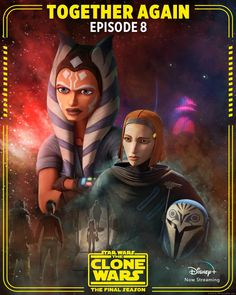The Clone Wars on Twitter - Star Wars Poster - Ideas of Star Wars Poster - #starwars #posters #starwarsposter - Star Wars Boba Fett, Star Wars Rebels, Lego Star Wars, Star Trek, Star Wars Facts, Star Wars Humor, Jar Jar Binks, Dark Maul, Disney Plus