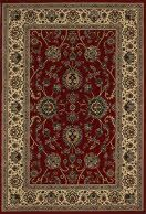 """An incredibly dense and ultra-thick synthetic construction has been transformed into the classic """"old world"""" Persian designs. The true colorations of ancient Persia have been updated to give the look and feel of a true handmade collector's rug with today's hottest fashion colors. The styles chosen represent a cross-section of """"the best of the best"""" in traditional styling."""