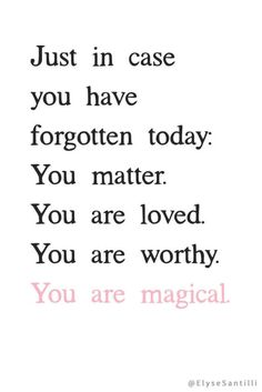 Your daily reminder :)